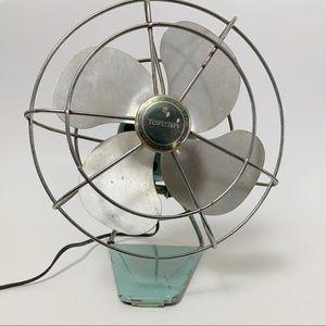 Vintage mid century industrial fan